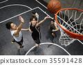 男子射击篮球 35591428