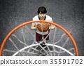 打籃球的女人 35591702