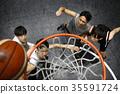 打篮球的男人 35591724