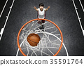 打篮球的女人 35591764