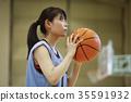 打籃球的女人 35591932