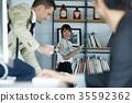 男人和女人 男女 办公室 35592362