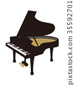 大鋼琴 鋼琴 器具 35592701