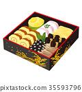 New Year dishes, Ichinoju 35593796