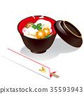 정월 요리, 설 음식, 떡 35593943