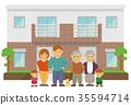房屋 房子 住宅的 35594714
