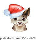 watercolor, puppy, dog 35595029