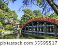 住吉大社 拱桥 神殿 35595517