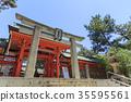 住吉大社 神殿 鸟居 35595561