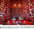 tsurushi-bina, hanging ornament, dolls for girl's festival 35599059