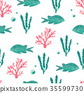 魚 花紋 圖樣 35599730