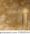 The second Advent with candle 35600544
