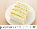 baker, bread, sandwich 35601105
