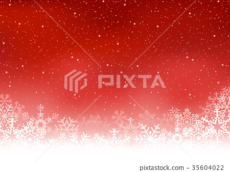 Christmas Snowflakes Background 35604022