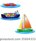 set of boats 35604333
