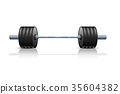 barbell weight vector 35604382