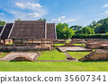 Wiang Kum Kam ancient temple ruins 35607341