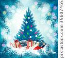 树木 树 圣诞节 35607465