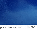 blue summer raindrops falling  35608923