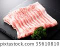 豬肉 肋骨 五花肉 35610810