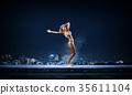 bikini, dancer, night 35611104