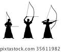 japanese archery, sport, sports 35611982