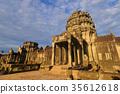 불교, 앙코르 와트, 아침 35612618