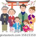 矢量 家庭 家族 35615350