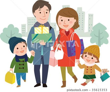 矢量 家庭 家族 35615353