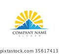Mountain Logo Template Vector 35617413
