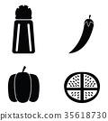 spices icon set 35618730