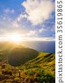 hawaii, sunrise, morning sun 35619865