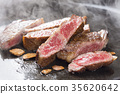 Grilled steak meat 35620642