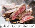 牛排 荤菜 牛肉 35620645