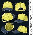 Baseball cap set 35624361