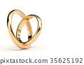 반지, 결혼 반지, CG 35625192