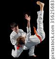 Boys martial arts fighters 35625683