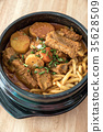 Gamjatang Korean Spicy Pork rib 35628509