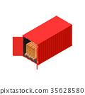 货物 容器 分发 35628580