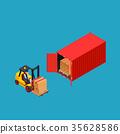 货物 货运 容器 35628586