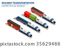 container freight rail 35629466