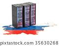 Data Center server racks in Slovenia concept 35630268