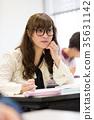 大学生 人 人物 35631142