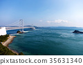 onaruto bridge, honshu-shikoku bridge expressway company, kobe awaji naruto expressway 35631340
