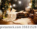 Stylish Christmas decorations 35631526