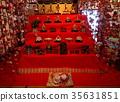 hanging doll decorations, dolls for girl's festival, tsurushi-bina 35631851