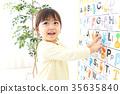 영어 공부를하는 아이 35635840
