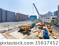 Large scale construction site 35637452