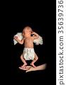 新生兒 天使 嬰兒 35639736