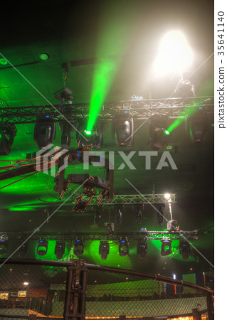 Concert with shooting on TV 35641140